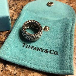 Tiffany & Co mesh ring